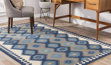 Up to 75% Off Rugs in Cool Hues