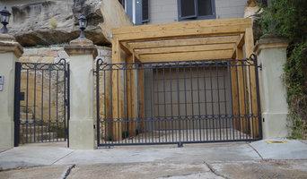 automatic steel swing gates
