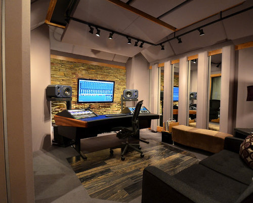 Home recording studio ideas pictures remodel and decor - Home recording studio design ideas ...