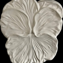 Stylist's Own® Marble Pansy Wall Sculptures