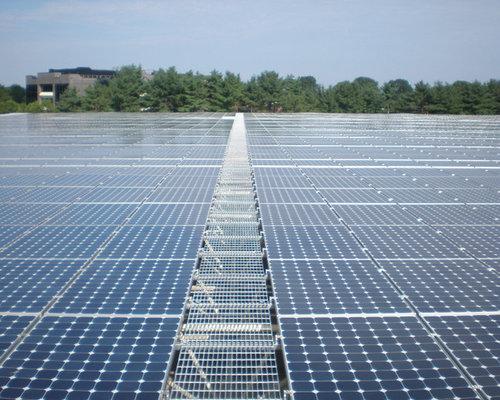 Solar Rooftop Walkway Mcnichols 174 Bar Grating