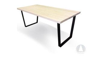 Spisebord - 170x90 cm. Hvidolieret.