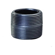 "Close Black Steel Nipple Pipe Fitting With 6"" Nominal Size Diameter"