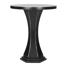 Safavieh   Alston Round Top End Table, Black   Side Tables And End Tables