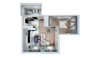 Квартирный вопрос 3D: В стиле большого города