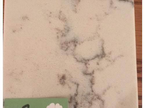 Quartz Countertop Help Needed For Orange Oak Cabinets