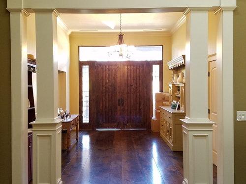 Sisal or jute rug for this foyer? Where