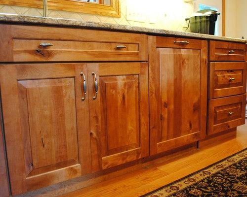 Rustic Birch Kitchen   Kitchen Cabinetry