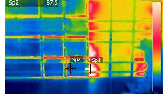 Infrared house pictures