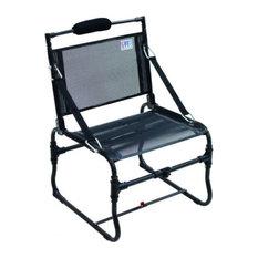 Shelter Logic Medium Compact Traveler Chair w/Strap Arms - Black