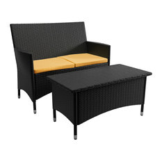 Sonax Cascade Patio Sofa and Coffee Table