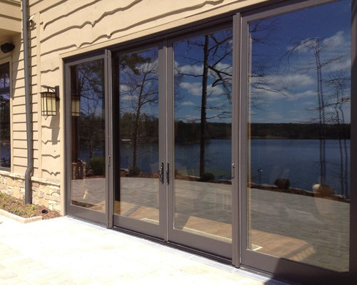 Large 96x109 Sliding Glass Doors With Retractable Screens