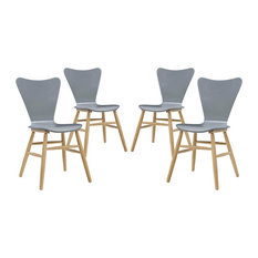 Cascade Dining Chair Set Of 4 Gray