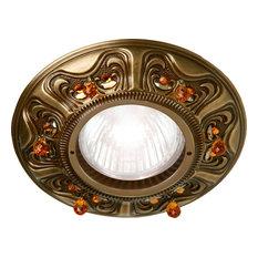 - FEDE - Colección Crystal de Luxe PALACE - Empotrable con Iluminación LED - Apliques empotrados