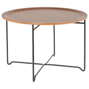 Marea Industrial Coffee Table, Brown