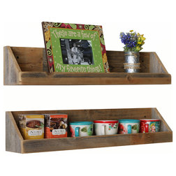 Farmhouse Display And Wall Shelves  by Doug and Cristy Designs