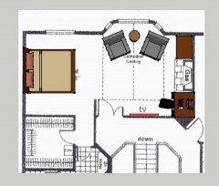 awkward master bedroom layout dilemma