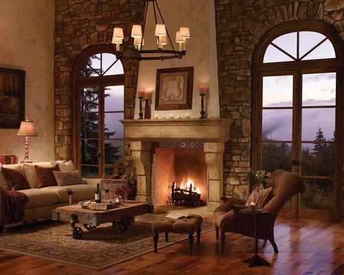 The Palacio Fireplace Surround - Indoor Fireplaces