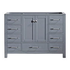 "Virtu Caroline Avenue 48"" Cabinet Only, Gray"