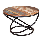 VidaXL Solid Reclaimed Wood Coffee Table, 60x60x40 cm