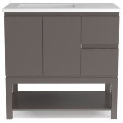 Contemporary Bathroom Vanities And Sink Consoles by Houzz