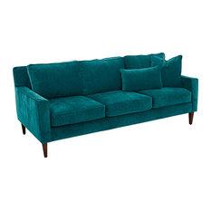 Klaussner Furniture Neiman Sofa Cerulean