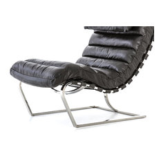 Modern Collection Rustic Edge - Wynd Lounge Chair - Distressed Black - Indoor Chaise Lounge Chairs - Where can i ...  sc 1 st  Armchairs and Accent Chairs & Modern Collection Rustic Edge - Wynd Lounge Chair - Distressed Black ...