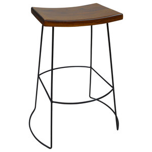 Outstanding Aileen Stool In Brown Bar Stools And Counter Stools By Creativecarmelina Interior Chair Design Creativecarmelinacom