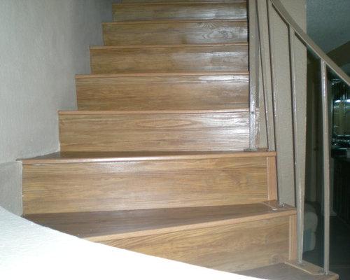 luxury vinyl tile lvt stairs. Black Bedroom Furniture Sets. Home Design Ideas