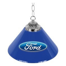 """Ford 14"""" Ford Oval Single Shade Bar Lamp"""