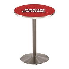 Louisiana-Lafayette Pub Table 28-inchx36-inch