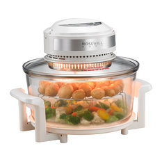 Digital Infrared Halogen Convection Oven with Stainless Steel Extender Ring