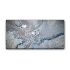 Modern, Abstract, Fine Art, Resin Coated, Ready to Hang, Limited Edition