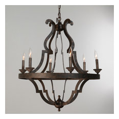 Seville Iron Chandelier Small by Kosas Home