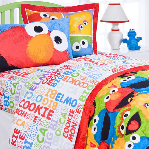 Sesame Street Bedding And Room Decorations Awesome Sesame Street Bedroom  Ideas
