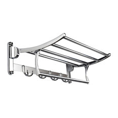 Wall Mounted Bathroom Towel Rack in Stainless Steel for Quality and Durability