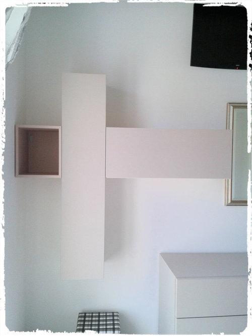 Camera matrimoniale frassino bianco e frassino canapa
