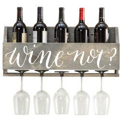 Farmhouse Wine Racks by Del Hutson Designs