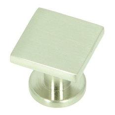 Stone Mill Hardware -Milan Satin Nickel SoHo Cabinet Knob