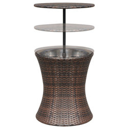 Tropical Outdoor Coffee Tables by vidaXL