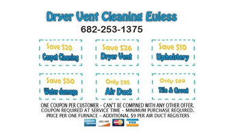 Dryer Vent Cleaning Euless TX