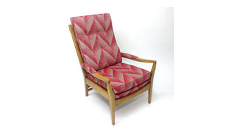 Midcentury Cintique Lounge Chair