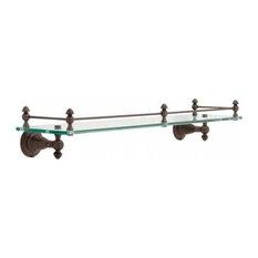 Delta Faucet Victorian 24 Gl Shelf With Rail Venetian Bronze 75010 Rb
