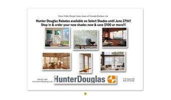 Rebates From Hunter Douglas