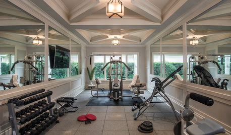 Houzz Your Workout: Home Gyms That Get You Moving