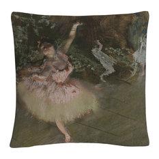 """Degas 'The Star' 16""""x16"""" Decorative Throw Pillow"""
