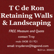 T C de Ron Retaining Walls & Landscaping's photo