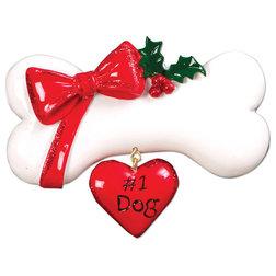 Contemporary Christmas Ornaments by POLARX ORNAMENTS
