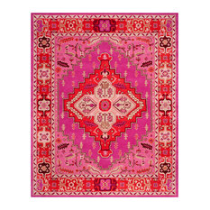 Safavieh Bellagio Collection BLG545 Rug, Red/Pink, 8'x10'