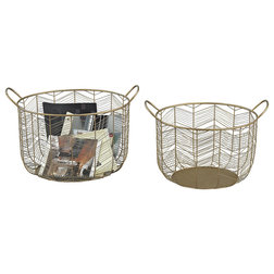 Contemporary Baskets by BisonOffice